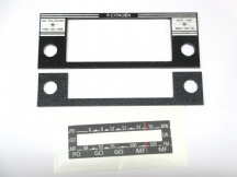 """CITROEN"" Faceplate set for Retrosound Radio (DS/ID)"